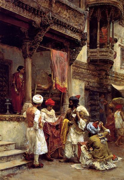 The Silk Merchants - Edwin Lord Weeks
