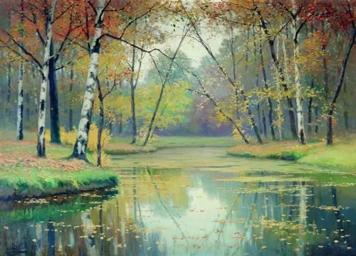 Autumn, 1897 - Efim Volkov