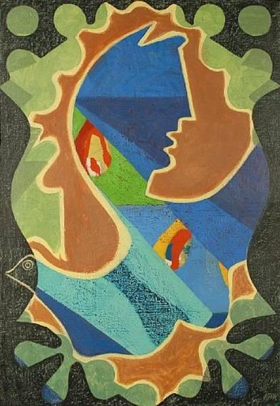 Bird Woman, 1978 - Eileen Agar