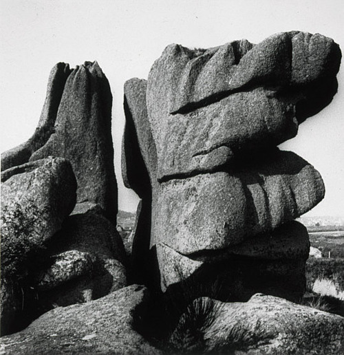 Rocks at Ploumenach, Brittany, 1936
