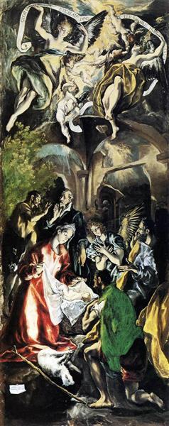 Adoration of the Shepherds, c.1596 - El Greco