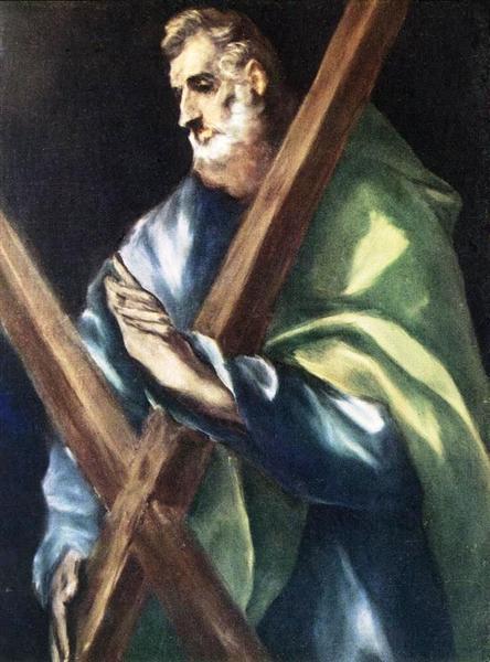 Apostle St. Andrew, c.1612 - El Greco