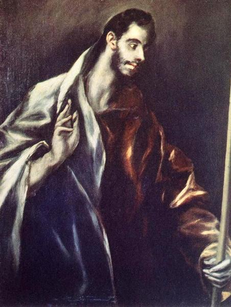 Apostle St. Thomas, c.1612 - El Greco
