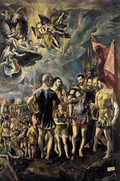 Martyrdom of St. Maurice and His Legions, 1580 - 1581 - El Greco
