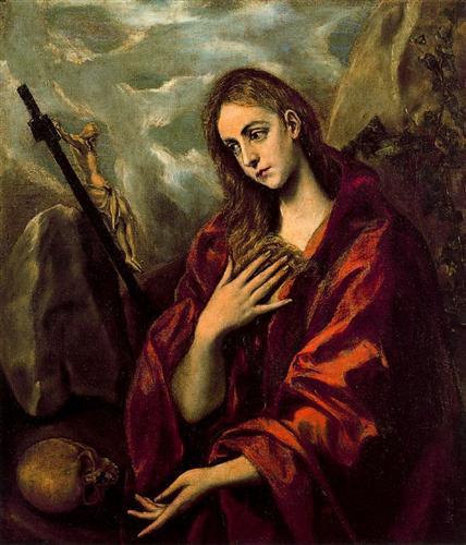 Кающаяся Магдалина - Эль Греко
