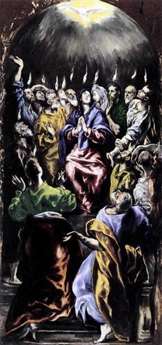 Pentecost - El Greco