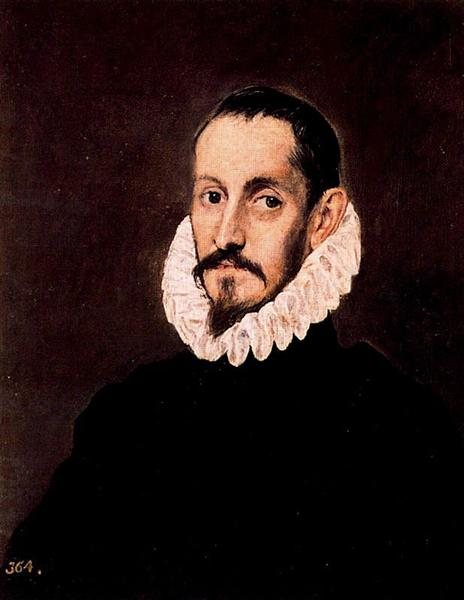 Portrait of a man, c.1580 - El Greco