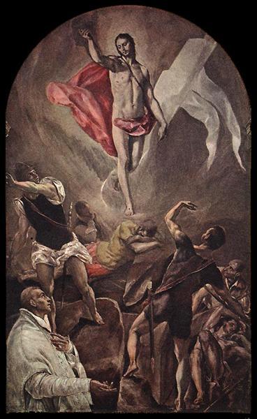 Resurrection, 1579 - El Greco