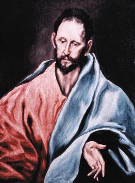 St. James the Less, c.1595 - El Greco