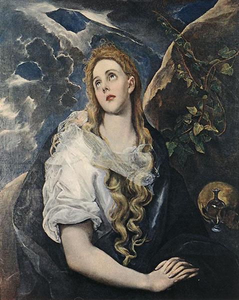 St. Mary Magdalene, c.1580 - El Greco