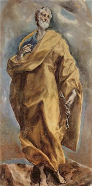 St. Peter, c.1613 - El Greco