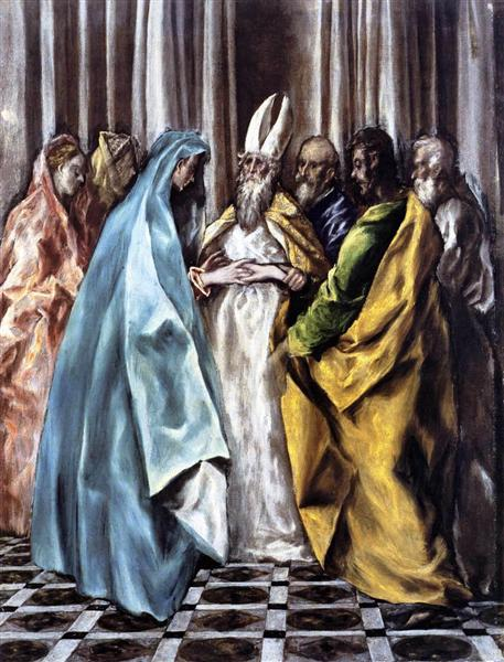 The Marriage of the Virgin, c.1600 - El Greco