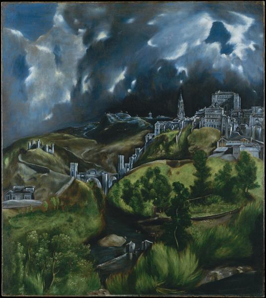 View of Toledo, c.1599 - El Greco