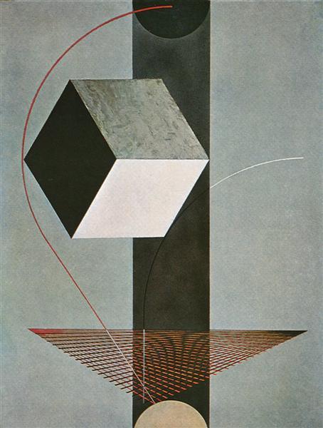 Proun 99, 1924 - El Lissitzky