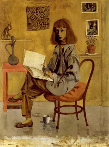Self-Portrait, 1946 - Elaine de Kooning