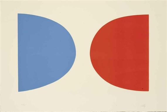 Blue and Orange, 1965 - Ellsworth Kelly