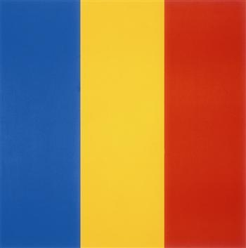 Blue Yellow Red, 1990 - Ellsworth Kelly