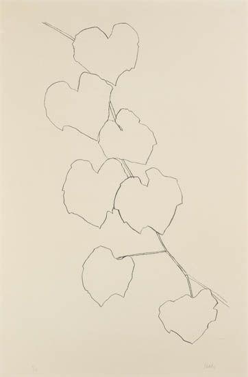 Grape Leaves II, 1973 - 1974 - Ellsworth Kelly