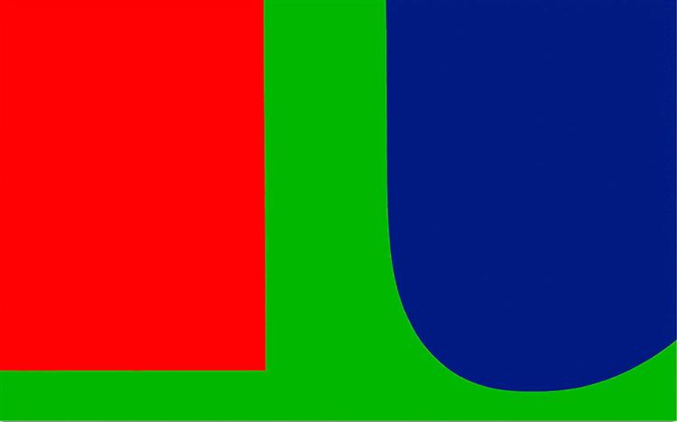 Red Blue Green, 1963 - Ellsworth Kelly