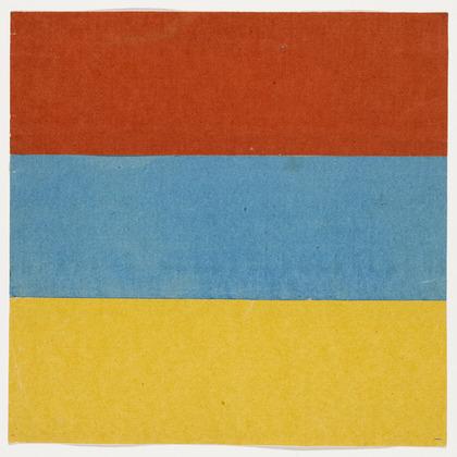 Red, Blue, Yellow, 1951 - Ellsworth Kelly