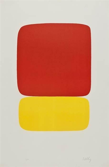 Red over Yellow, 1965 - Ellsworth Kelly