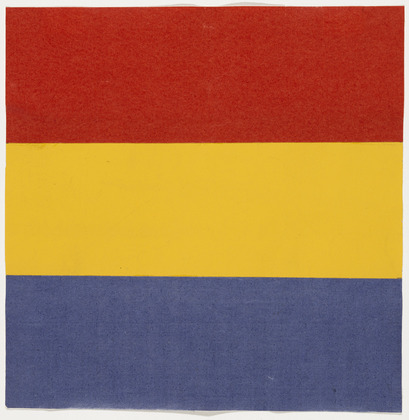 Red, Yellow, Blue, 1951 - Ellsworth Kelly