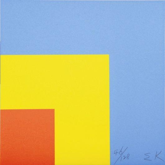 Red Yellow Blue, 2000 - Ellsworth Kelly