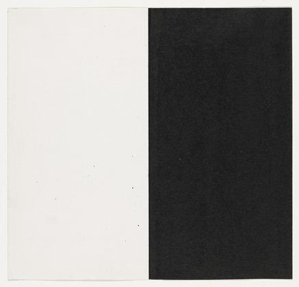 White and Black, 1951 - Ellsworth Kelly