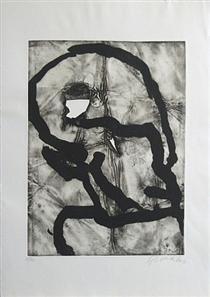 Hommage á Picasso - Emil Schumacher
