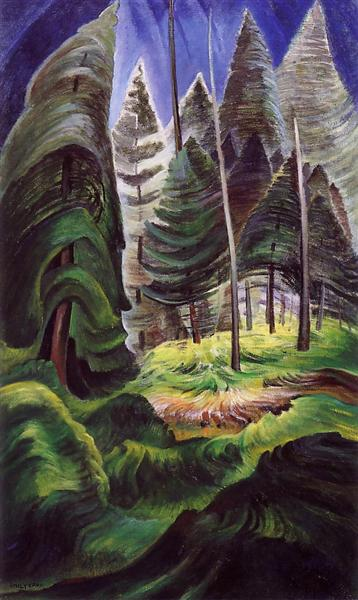 A Rushing Sea of Undergrowth, 1935 - Emily Carr