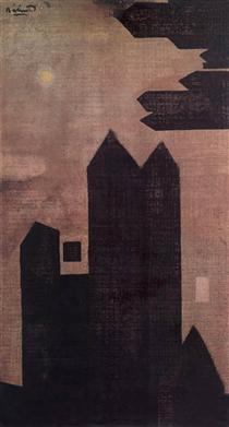 Houses at Hastings - Ендре Балінт