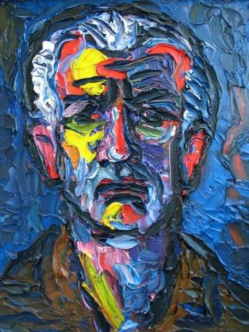 Self-portrait, 1985 - Endre Bartos