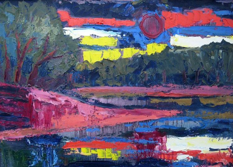 Sunset 2, 1978 - Endre Bartos