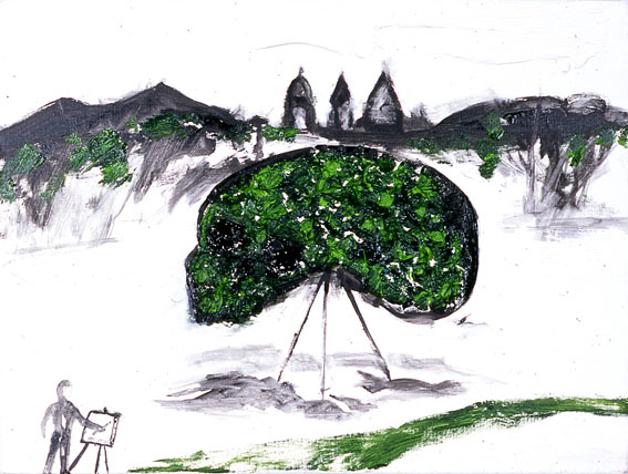 Boccheggia, 2007 - Enzo Cucchi