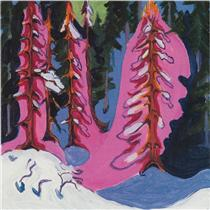 At the Forest Edge - Ernst Ludwig Kirchner