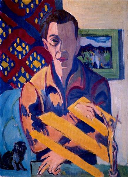Self-Portrait, 1931 - Ernst Ludwig Kirchner