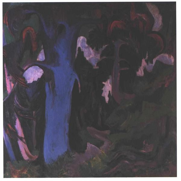 The Blue Tree - Ernst Ludwig Kirchner