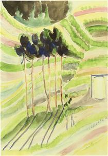 Trees - Ernst Ludwig Kirchner