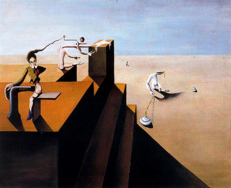 Composición surrealista - Esteban Frances