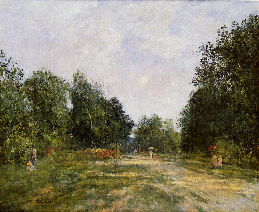 Cordier Park, Trouville, 1883