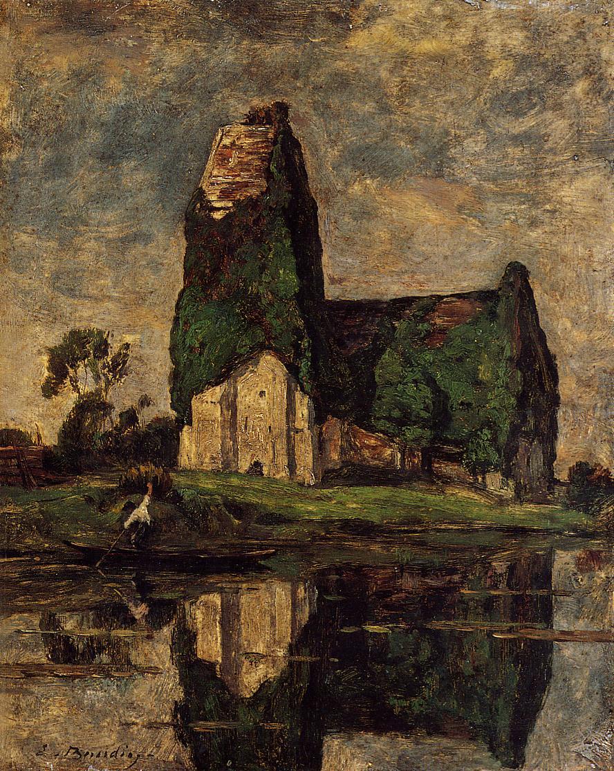 Criqueboeuf, the Church, 1883