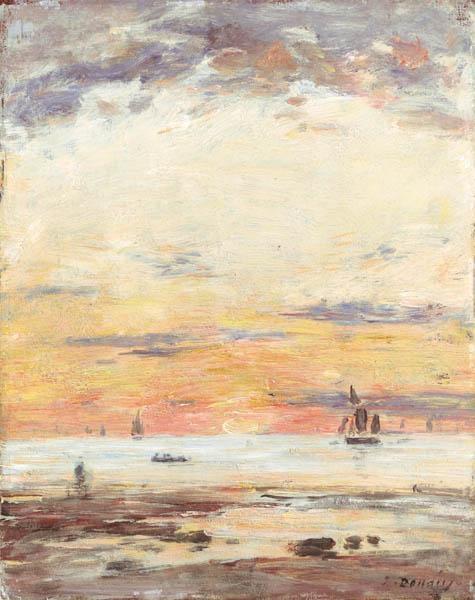 Ebb on sunset, 1882