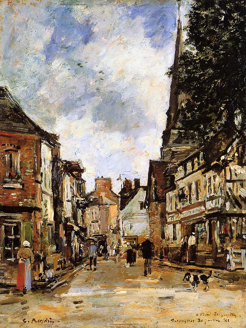 Fervaques, a Village Street, 1881