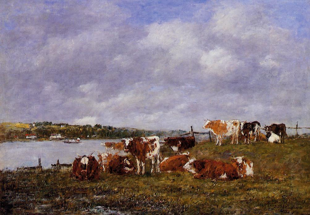 Pasturage, the Valley of the Touques, 1881