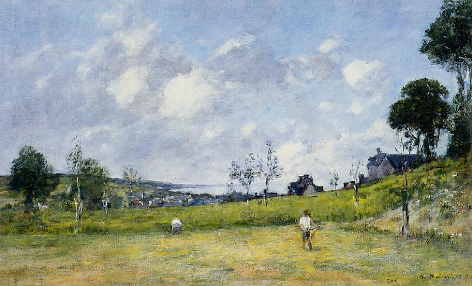 The Harvest near Trouville, 1878