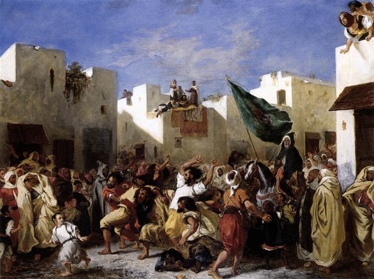 Fanatics of Tangier - Eugene Delacroix