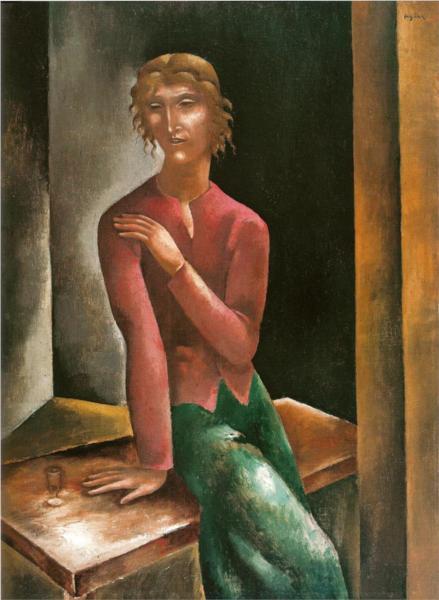 Drinking, 1923 - Eugeniusz Zak