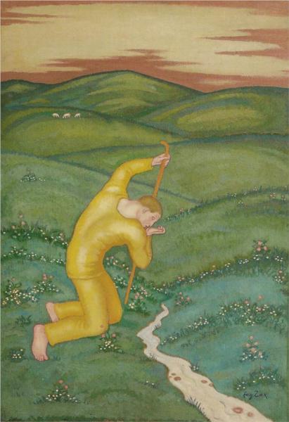 Shepherd, 1910 - Eugeniusz Zak