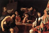 A Gathering of Friends - Eustache Le Sueur