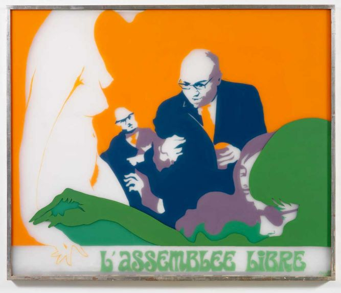 L'Assemblée Libre, 1970 - Евелін Аксель